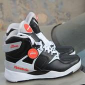Кожаные кроссовки Reebok pump, р. 40,5