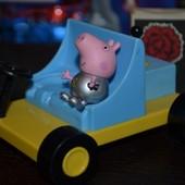 Джордж космонавт и луноход фигурки Пеппа Пиг Peppa Pig свинка Пеппа