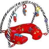 Американская подушка для кормления+дуга для игрушек Boppy