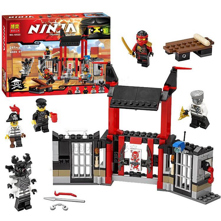 Фигурки ninjago/ниндзяго, конструктор 10522, 10396, sy385 фото №1