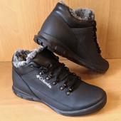 Зимние ботинки из кожи по супер-цене. Размеры 40 и 43
