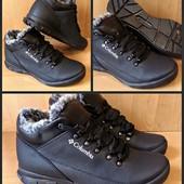 Зимние ботинки из кожи по супер-цене!