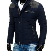 Мужская зимняя куртка стеганная