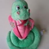 Распродажа - Музыкальная мягкая змея  Кобра зеленая, голубая  от Lava