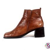 Ботинки 39 р Franco Bonoldi Италия кожа оригинал демисезон