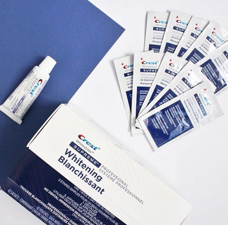 Акция!отбеливающие полоски для зубов crest whitestrips supreme максимально эффективные отб фото №1