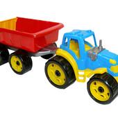 Трактор з причепом ТехноК, арт. 3442.  Новинка!