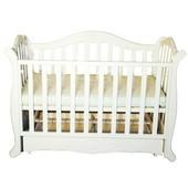 Детская кроватка Twins Павелик шарнир/подшипник белая