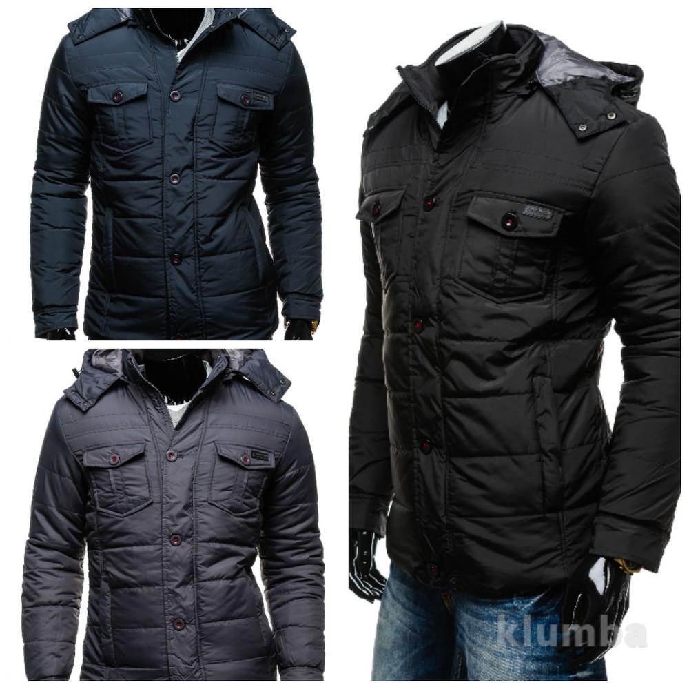 куртка мужская зимняя фото №1