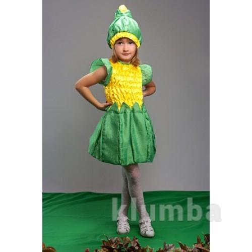 Прокат карнавальный костюм кукурузы, кукуруза, р.104-116 фото №1