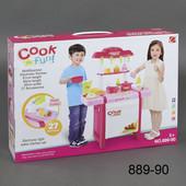 Кухня 889-90 набор игровой детская с аксессуарами