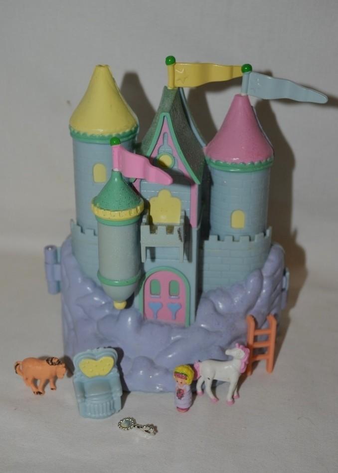Набор домик замок polly pocket bluebird для малюсеньких маленьких куколок полли покет фото №1