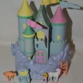 набор домик замок Polly Pocket Bluebird для малюсеньких маленьких куколок полли покет