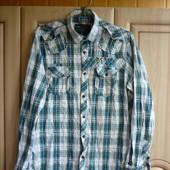 Сорочка (рубашка) H&M мужская, размер М