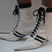 Оригинальные кожаные ботинки ( Италия ) 37 р.