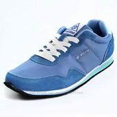 Кроссовки женские голубые 36 и 40р-качество супер