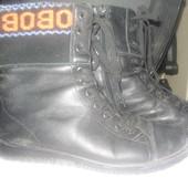 черевики зимові шкіряні