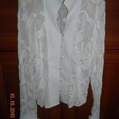 Отличная  белоснежная блузочка