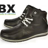 Ботинки мужские кожаные на шерсти Missouri Braxton Украина