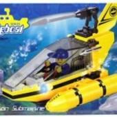 Конструктор Brick Подводная серия 1215 ,100 деталей