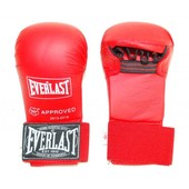 Накладки,перчатки для карате Everlast красные