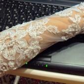Свадебные ажурные перчатки