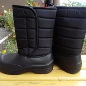 Зимние мужские ботинки дутики 39, 40, 41, 42, 43, 44, 45