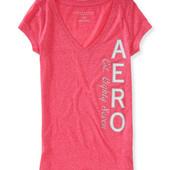 Тонкие нежные футболочки Aeropostale, S, M