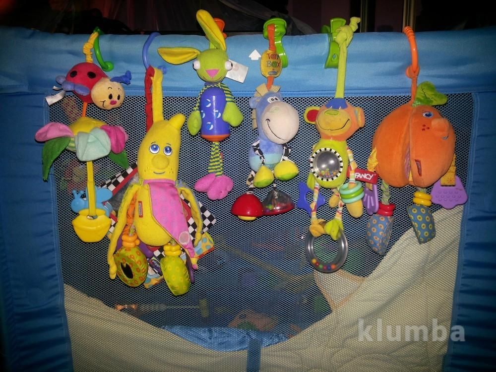 Отличные фирменные игрушки на коляску/кроватку и не только)) фото №1