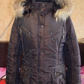 Куртка зимняя р-р 50 состояние новой