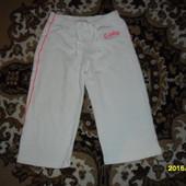 Спортивные штанишки для принцессы 4-5лет
