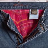 Утеплённые джинсы Eddie Bauer, р.46