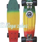 Скейтборд/скейт пенни борд (Penny Board) пенни борд фиш градиент