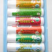 Набор органических натуральных бальзамов для губ от Sierra Bees - 8 шт.