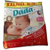 Подгузники дада/Dada упаковка XXL наличие