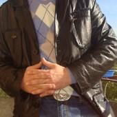 Фірмова кожаная курточка .Blue Coast.