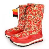 Дутики женские красные Mon Ami Marmelad 38 41 размеры