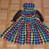 Шикарное карнавальное платье