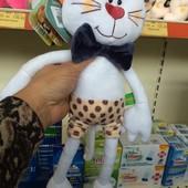 Котик Бланш, кіт, кот Бьянка, мягкие игрушки ТМ Левеня