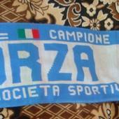 Фірмовий шарф .Ф.К.Napoli.