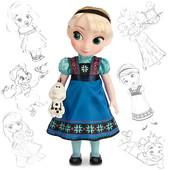 Кукла Elsa Эльза Дисней аниматор/аnimators сollection,Disney