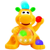Игрушка Гиппопотам-жонглер (звук) Kiddieland