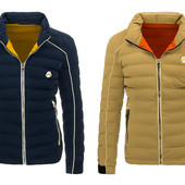 Мужская зимняя куртка спортивного стиля