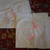 Два красивых одеяльца, можно на выписку