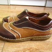 Josef Seibel 37р якісні туфлі мокасини шкіра