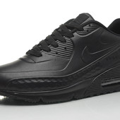 Кроссовки Nike Air Max 90 First Leather black