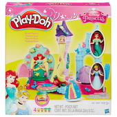 Play-Doh royal palace featuring Disney Princess Принцессы диснея