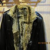 Кожанная куртка на меху Vitalli daniell^s размер S-М