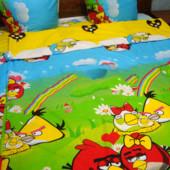 Детское постельное белье Энгри бердз