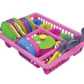 Набор посуды в сушке, Кухонний набір 5 Технок, арт  3282